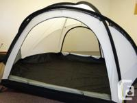 Nunatak geodesic 4-season tent includes tent, rainfly,