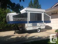 2006 Jayco 806, 8 foot outdoor tents trailer. Trailer