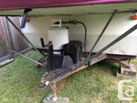 Tent trailer model Camplite by Daemon, 12' close / 22'