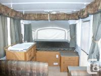 We are offering our Fleetwood ( Coleman ) tent trailer