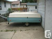 We have for sale a 1974 Starcraft tent trailer with