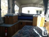 Very light and easy to tow,sleeps 6,120/12 volt