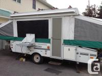 Tent-trailer Viking, 2005 exterior size: 12-foot box