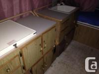 $500 OBO 1991 Coleman Williamsburg tent trailer, all