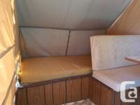 1970's Leisurecraft tent trailer. This is a very basic