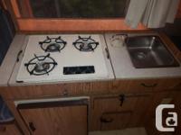 1990 Jayco tent trailer sleeps 5 people stove,ice box,