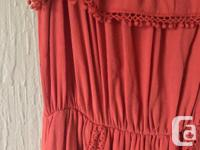 SUPER comfy polyester maxi dress, says size small but