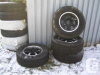 4 LT265 / 70R17 All Terrain Hewless winter tires and