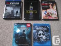 I have the complying with scary Blu-rays as well as