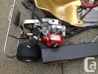 Make Honda Model Z Terry Fullerton Tiger GX160 Racing