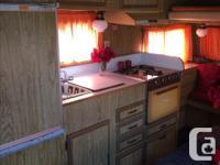 Good condition terry travel trailer 1972. Sleeps 5-6 no