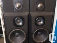 UNCOMMON !!! HOT COLLECTOR'S SPEAKERS. 2 JBL XPL200A 4