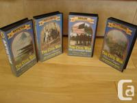 The Civil War 125th Anniversary Series 4 VHS Collection