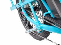 Tern GSD S10 electric bike in Beetle Blue - fully