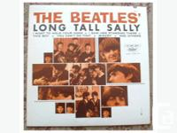 The Beatles Long Tall Sally Canadian LP. 1976 reissue,