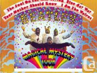 THE BEATLES MAGICAL MYSTERY TOUR LP RECORD WITH