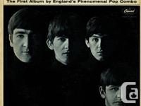 """This sale is for a copy of """"Meet The Beatles"""" by The"""
