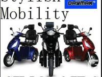*** THE ALL BRAND-NEW DAYMAK DELUXE FLEXIBILITY SCOOTER