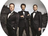 The Celtic Tenors Tickets  Centrepointe Theater in