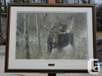 """FRAMED limited edition print #676/10671, size 44"""" x 34"""""""