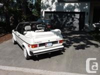 Make Volkswagen Model Cabriolet Year 1986 Colour All