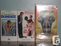8 - 4 episode tapes. Excellent condition. VHS Movies
