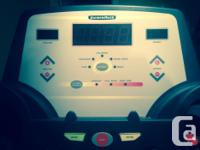 For Sale- BARELY used. Diamondback 400Tm Treadmill-.