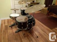 Newer drum skins and newer snare. Awesome drum set but