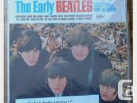 The Early Beatles American LP; orange label which is a