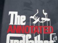 """Hardcover book model """"The Annotated Godfather"""" - The"""