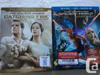 We have two brand new Blu ray movies still in packages,