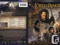 For Sale: The Lord of the Rings - The Return of the