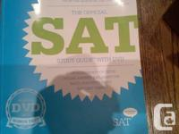 The Official SAT Study Guide with DVD(unopened). The