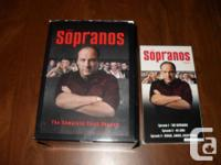The Sopranos Volume one contains the first three