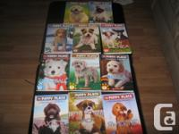 Have two lots of books: The Puppy Place Books which