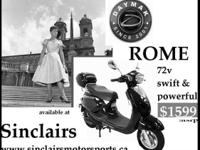 THE DAYMAK ROME 72V RETRO DESIGN ELECTRIC SCOOTER