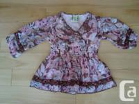The English Roses Pant & Best Collection - Size 4T -Age