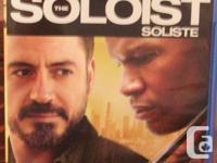 The Soloist - Jamie Fox, Robert Downey Jr.- Blue Ray To