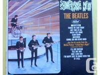 The Beatles Something New LP Canadian red target