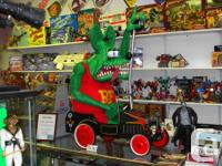 Offering this one of a kind LIFE SIZE Rat Fink figure