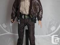HI! up for grabs is this Rick Grimes 12 inch fully