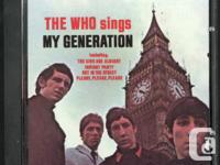 Team of 2 Cd's by the That. The Who Sings My