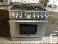 Thermador Professional 36 inch PRO-GRAND Gas Range NEW