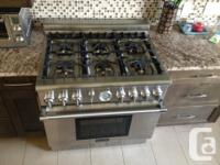 Thermador Professional PRO-GRAND Gas Range 6 burners