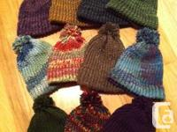 We have warm winter hats, scarfs, ear warmers and neck for sale  British Columbia