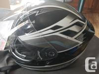 I have a size large THH full-face motorcycle helmet,