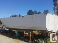 I have a 48' fiberglass hull and the mold for the