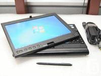 This lenovo ThinkPad X201 tablet in excellent