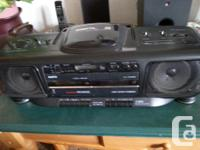 EVERY THING WORKS FANTASTIC ON THIS SANYO AM/FM/C.