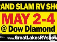 Grand Slam RV Show   Dow Diamond, Midland MI   FREE